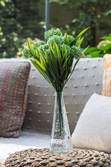 Arma House Allium Yeşil Yapay Çiçek Yeşil